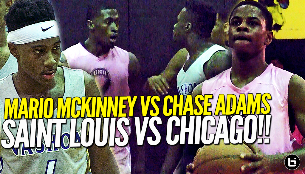 IS CHICAGO THE TOUGHEST CITY TO PLAY IN!? Chase Adams vs Mario Mckinney Chicago vs Saint Louis!!