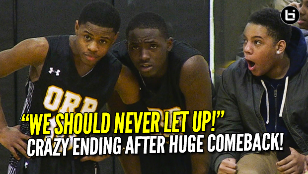 "Chase Adams, Orr Academy CRAZY Finish! ""WE SHOULD NEVER LET UP!"" Full Highlights vs NLCP"