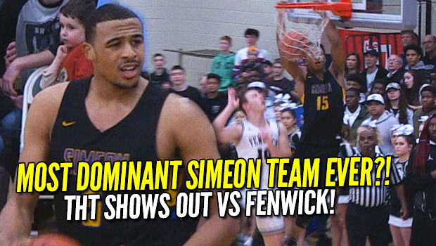 Most DOMINANT Simeon Basketball Team EVER? Talen Horton-Tucker Shows Out Against Fenwick! Full Highlights!