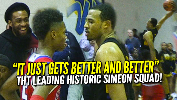Talen Horton-Tucker Does Everything! Jabari Parker Watches Most DOMINANT Simeon Team Ever! #1 Simeon vs #2 Curie Full Highlights!