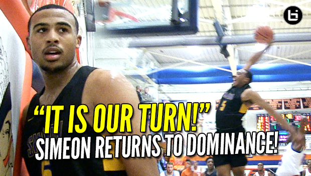 Simeon Returns to Dominance! MVP Talen Horton-Tucker Does It All! Pontiac Title Game Highlights #1 Simeon vs #2 Curie!