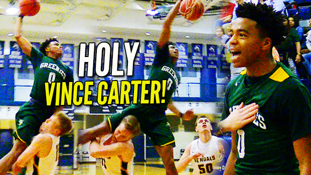 Jalen Lecque GOES VINCE CARTER on Defender BUT Who Gets the Last Laugh?!