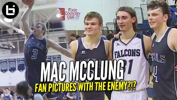 Mac McClung Taking IG Pics with the Enemy?!? Drops ANOTHER 40 Piece!