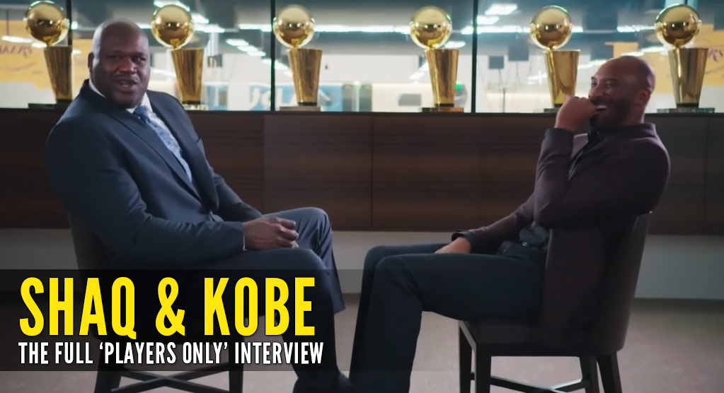 Shaq And Kobe's Full 'Players Only' Interview