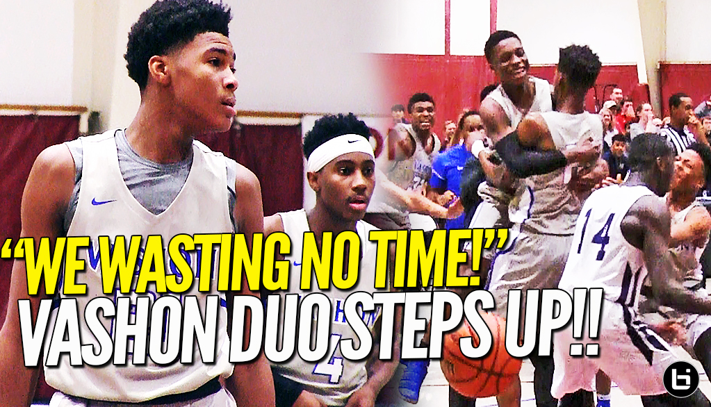 WASTING NO TIME!! Mario Mckinney & Cam Fletcher STEPS UP Big Time! Cyrus Alexander Hits Game Winner!