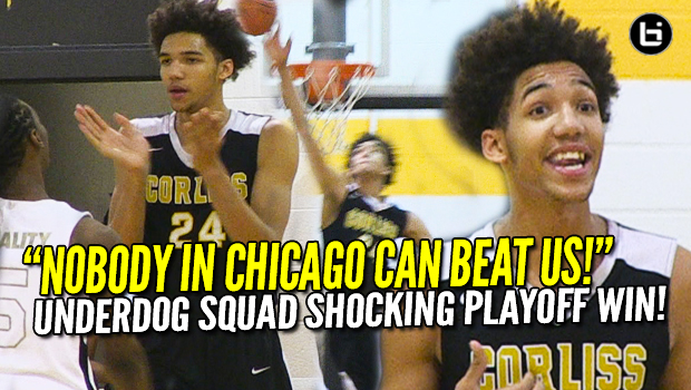 """Nobody in Chicago Can Beat Us!"" Iowa St commit George Conditt Near Triple Double Shocks City Power!"