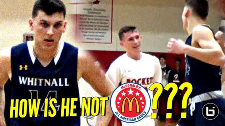 How Is Tyler Herro NOT A McDONALD'S ALL AMERICAN!?!? Another 40 POINT GAME For Kentucky Boy Wonder!