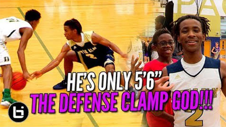 HE'S 5'6″ AND WILL LOCK YOU UP! Javian Williams is the Clamp God