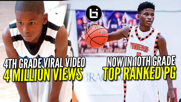 4TH GRADE BASKETBALL VIRAL VIDEO STAR TO RANKED IN High School!!! Ballislife Highlights