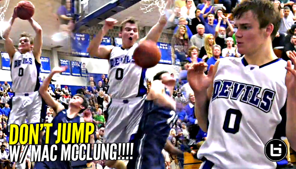 DON'T JUMP w/ MAC MCCLUNG!! LOSES His Mind AGAIN In 1st Playoff Game!!
