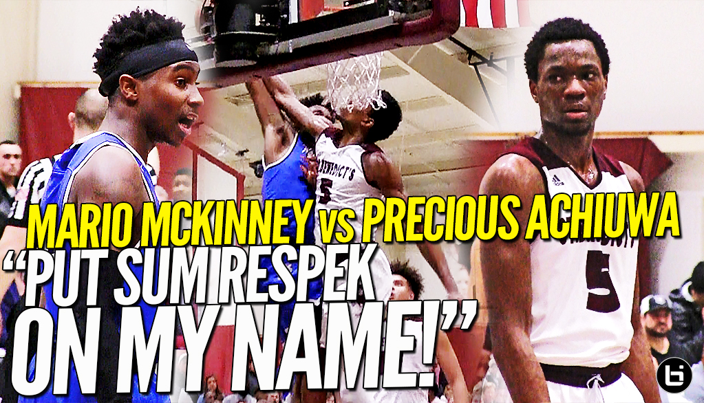 """PUT SUM RESPEK ON MY NAME!!"" Mario Mckinney Puts Up a FIGHT Against The Best Team In New Jersey!"