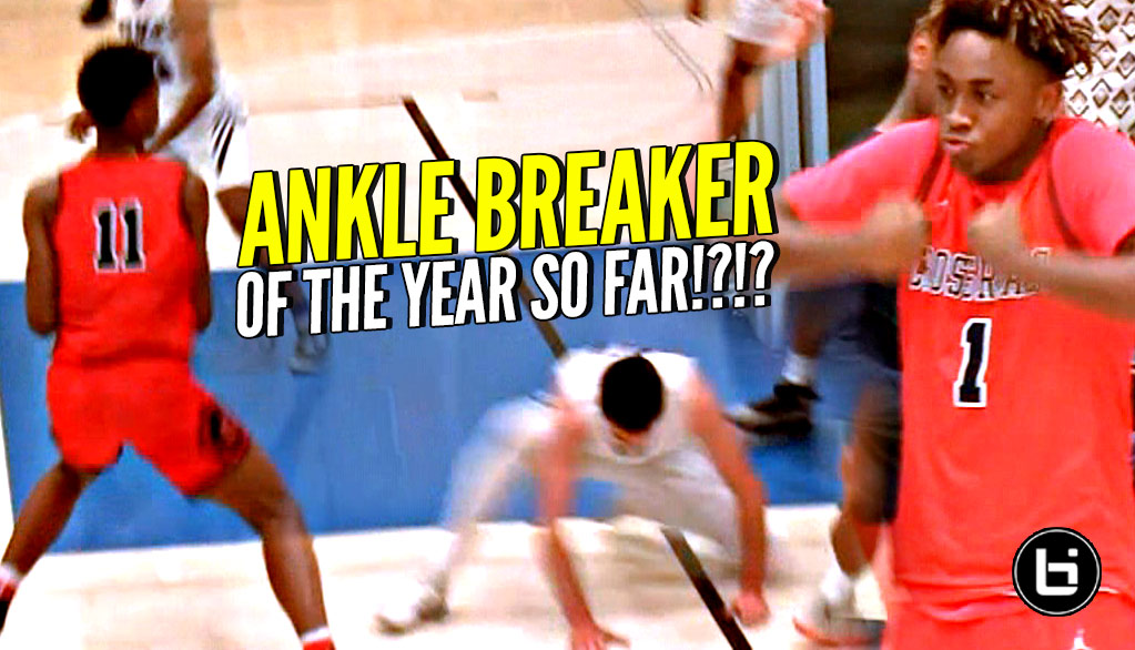 NASTIEST ANKLE BREAKER of 2018!? Shareef O'neal vs His OLD High School! DJ Houston BALLIN!!