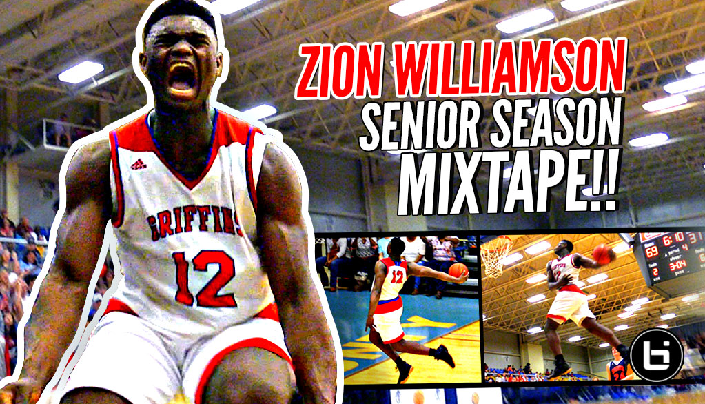 Zion Williamson OFFICIAL Senior Year Mixtape!!! THIS SHOULD BE ILLEGAL!!! Duke Bound!
