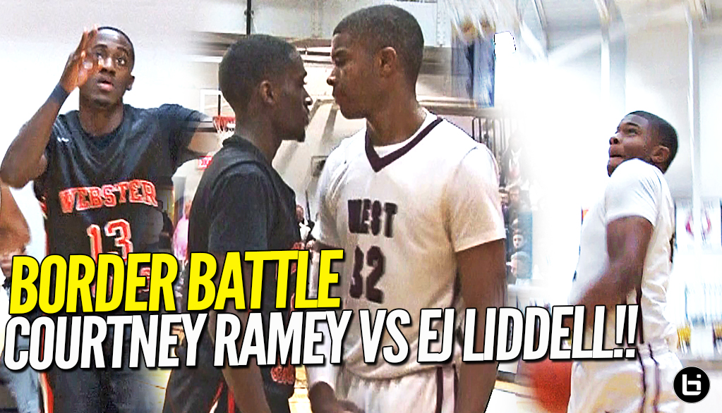BORDER BATTLE!! Courtney Ramey Not Backing DOWN Against Top Junior Ej Liddell at O'Fallon Shootout!!