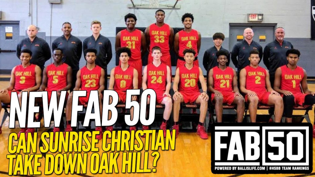 NEW FAB 50: PLAYOFF Time Is Near!