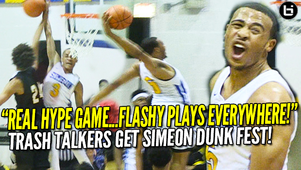 Simeon DUNK FEST is HYPE! Talen Horton-Tucker, Xavier Pinson Silence Trash-Talking Team! CRAZY Highlights!