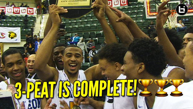 Simeon Wins City Title! Talen Horton-Tucker Cementing his Simeon Legacy with 3-PEAT! Full Highlights vs Chase Adams and Orr HS!