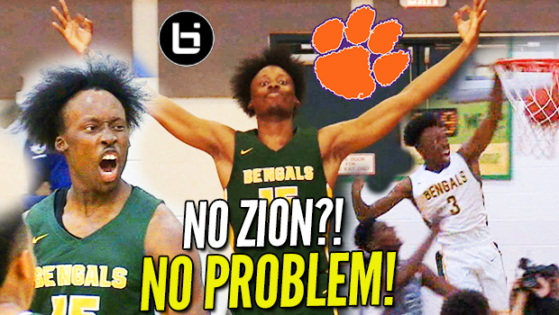 """No Zion?! NO PROBLEM!"" John Newman Ready to Lead Clemson BACK to the SWEET 16!"