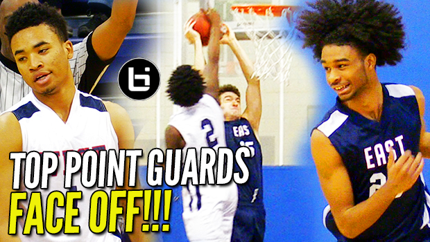 McDonald's All Americans & BLUE BLOOD Guards FACE OFF in All Star Game!