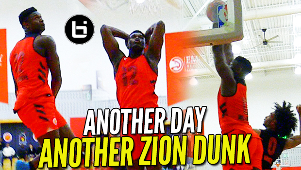 Zion Williamson BACKS THE HYPE at MCDAAG Week; PRACTICE Highlights!