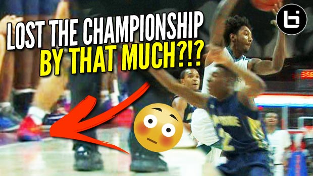 Buzzer Beater WAVED OFF in State Championship Game?!? Wendell Moore + Leaky Black