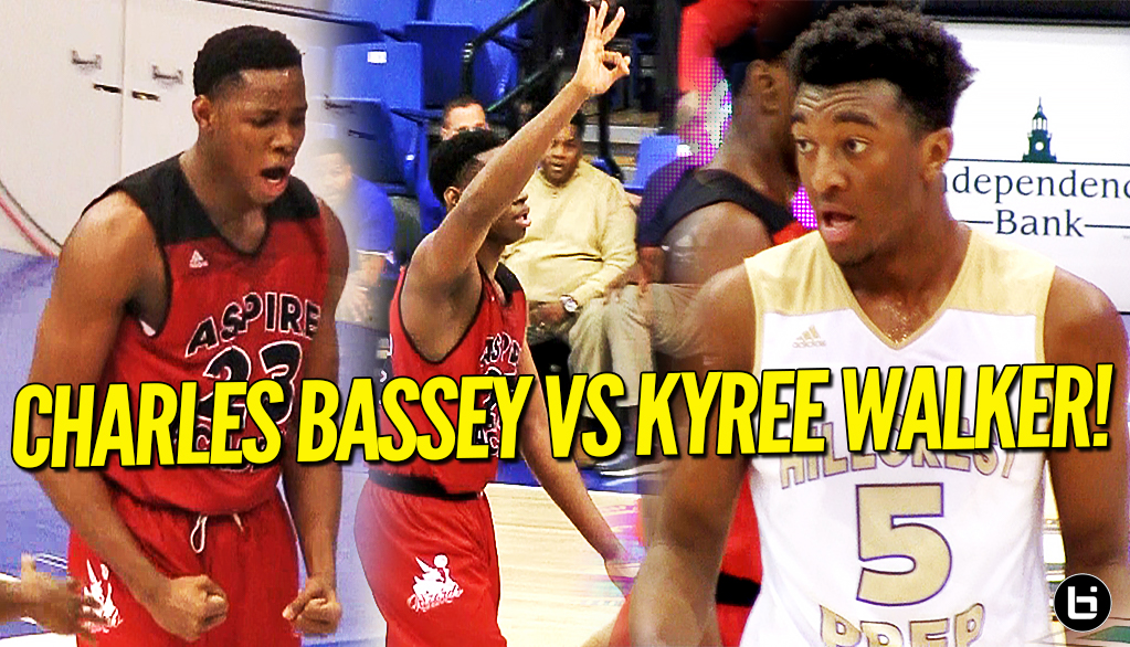 Kyree Walker Puts Up a FIGHT Against Charles Bassey at Grind Session National Tournament!!