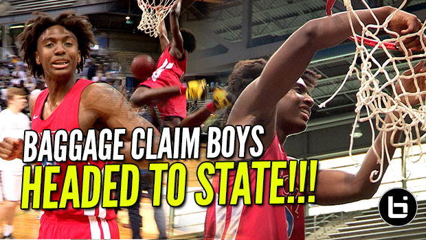 Baggage Claim Boys Are Headed To State! Tyrese Maxey & Chris Harris Ballislife Highlights