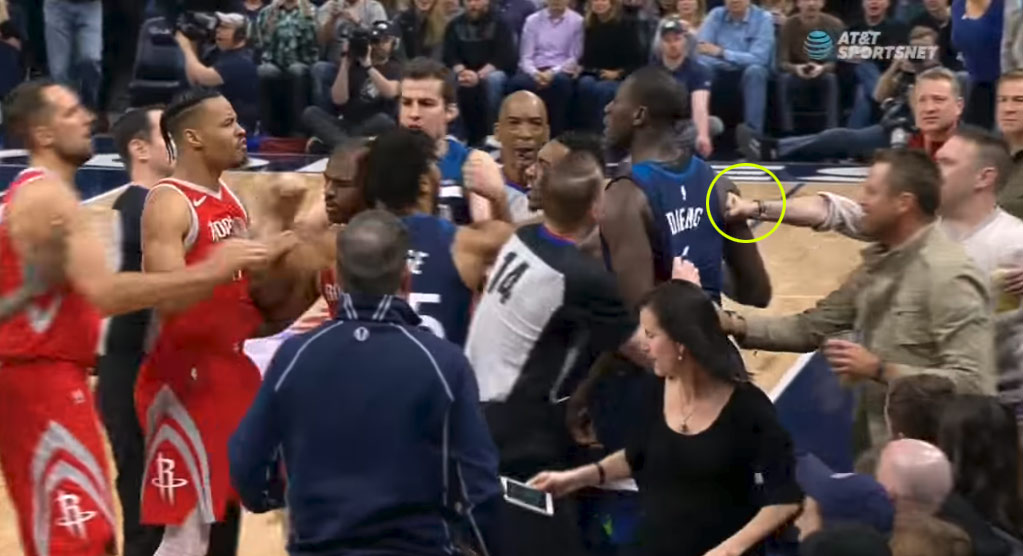 Chris Paul Says He Will Pay Gerald Green's Ejection Fine For Pushing Gorgui Dieng Off The Court