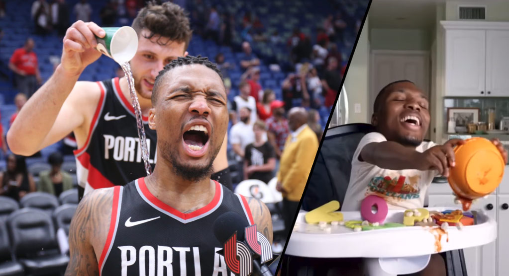 Damian Lillard Drops 20 4th Quarter Points, Then Leaves For The Birth Of Baby Dame
