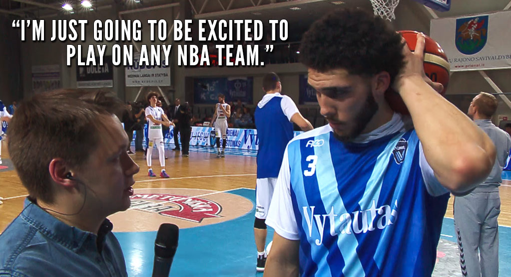 LiAngelo Ball Discusses His Decision To Declare For The NBA Draft, Then Scores 72 Points (Again)!