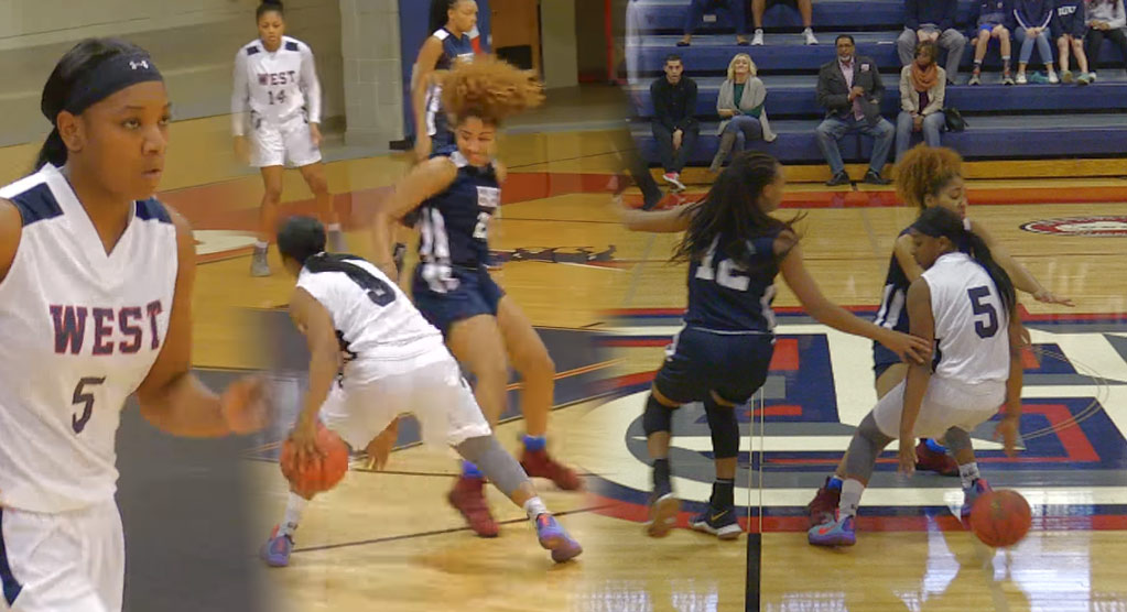 Class of 2018 Shaniya Jones Looking Like Kyrie Irving During NCISAA All-Star Game