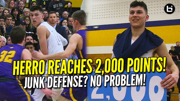 Tyler Herro Reaches 2,000 Points In Whitnall's Final Home Game! Full Highlights!