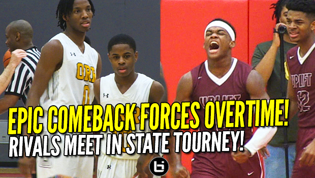 Chase Adams comes through in CLUTCH! HUGE COMEBACK! Markese Jacobs, Uplift Take Orr to OT! Full Highlights!