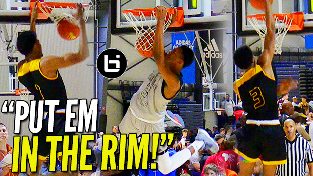 """PUT EM IN THE RIM!"" Greg Brown vs Ashton Hagans: Game Elite-Team Faith Highlights!"