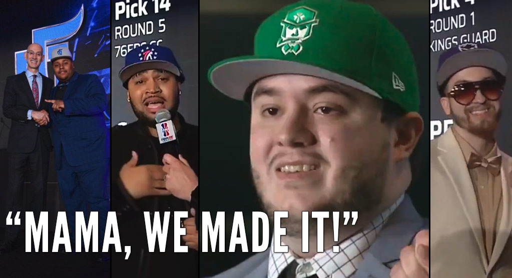 Best Moments From The NBA 2K League Draft