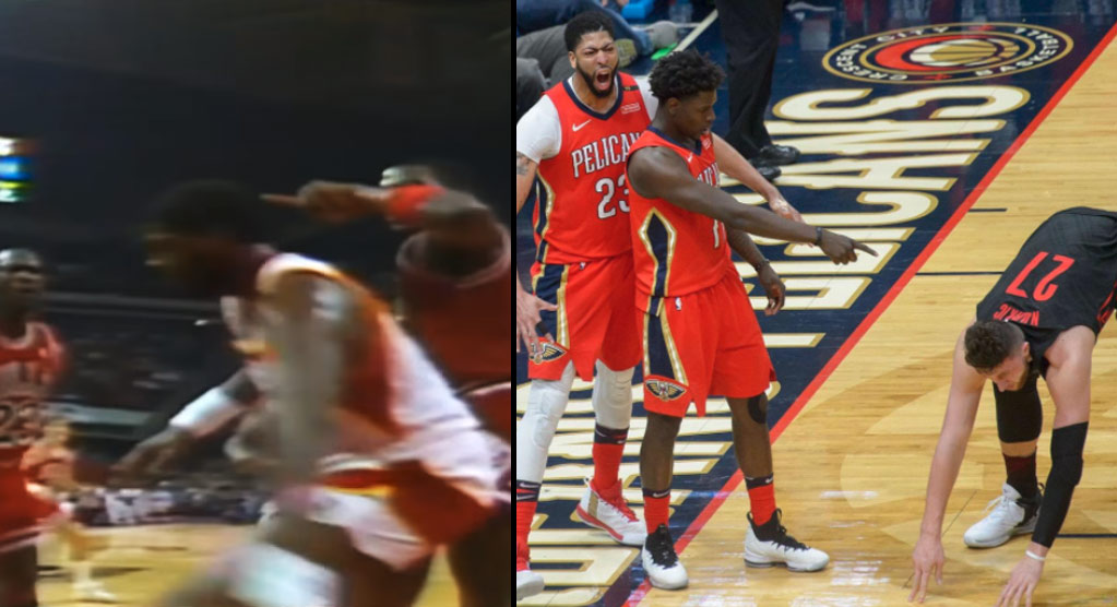 The Most Disrespectful Post-Dunk Pointings By A Teammate
