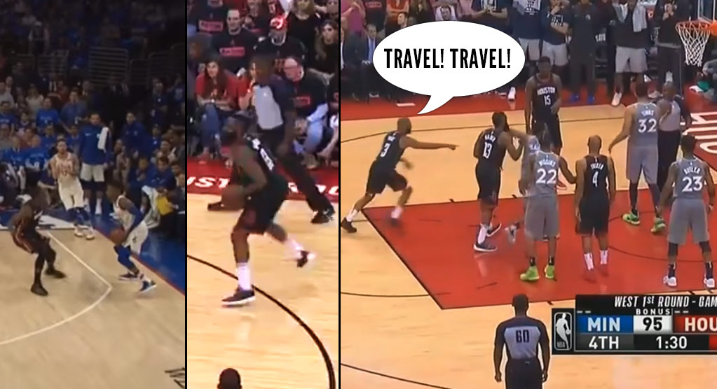"Best No-Call ""Travels"" From This Past Weekend's Playoff Games"