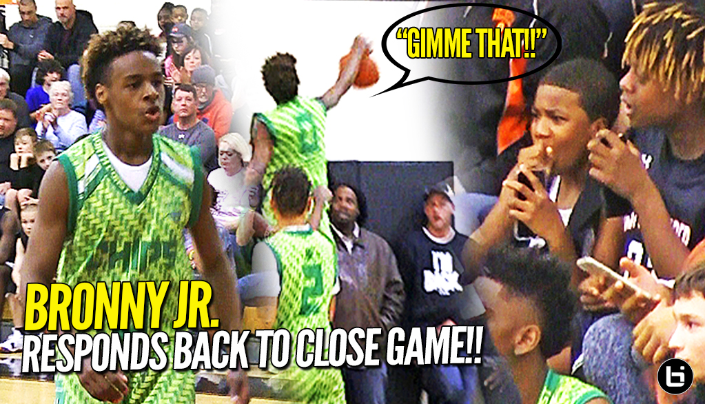 LeBron James Jr. & North Coast Blue Chips Gets TESTED in Debut at Dru Joyce Classic!!