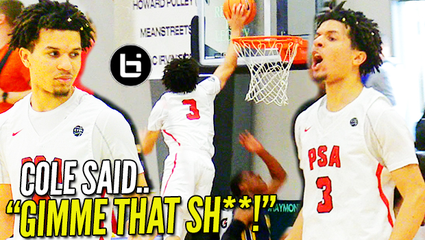 Cole Anthony OUT TO PROVE HE'S NO. 1! BEST PLAYER at Nike EYBL Session 1!