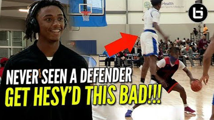 LOOK HOW BAD THIS DEFENDER GOT HESY'D! Ashton Hagans Adidas Dallas Highlights