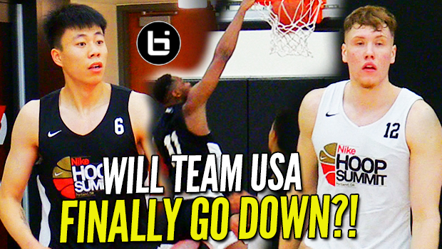 Can The WORLDS' BEST Defeat TEAM USA?! Hoop Summit Day 1 Highlights!