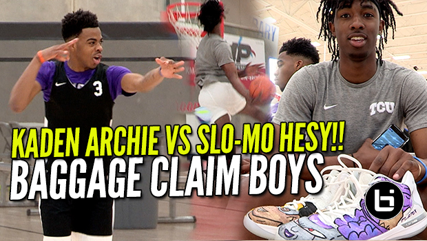 KADEN ARCHIE VS SLO-MO HESY!!! John Lee Foundation Ballislife Highlights