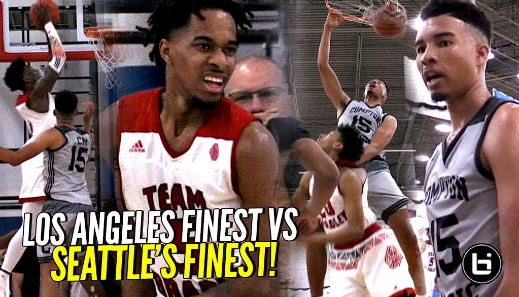 LA vs Seattle!! STACKED Compton Magic Team vs PJ Fuller, Jamon Kemp & Team Bradley!