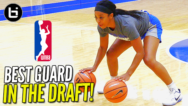 "BEST Guard in the Draft! Lexie Brown READY To Continue the ""BROWN"" Legacy! Pre Draft Workout"