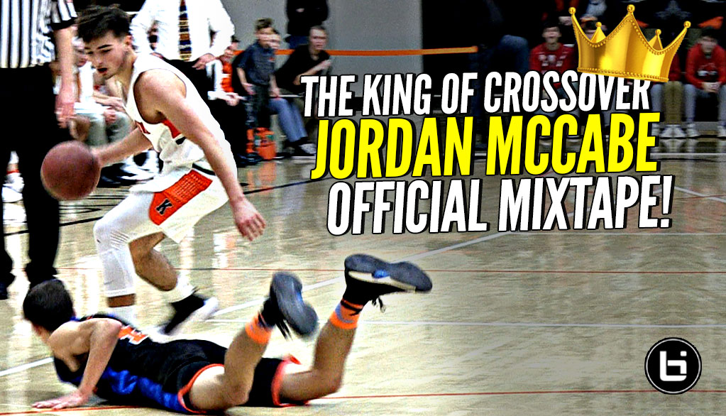 Jordan McCabe Is The HS KING OF THE CROSSOVER!!! OFFICIAL Mixtape!!! White Chocolate 2.0!