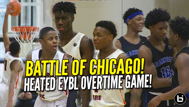 Battle of Chicago Needs Overtime at EYBL! Chase Adams, Kahlil Whitney. Mac Irvin Fire vs Meanstreets!