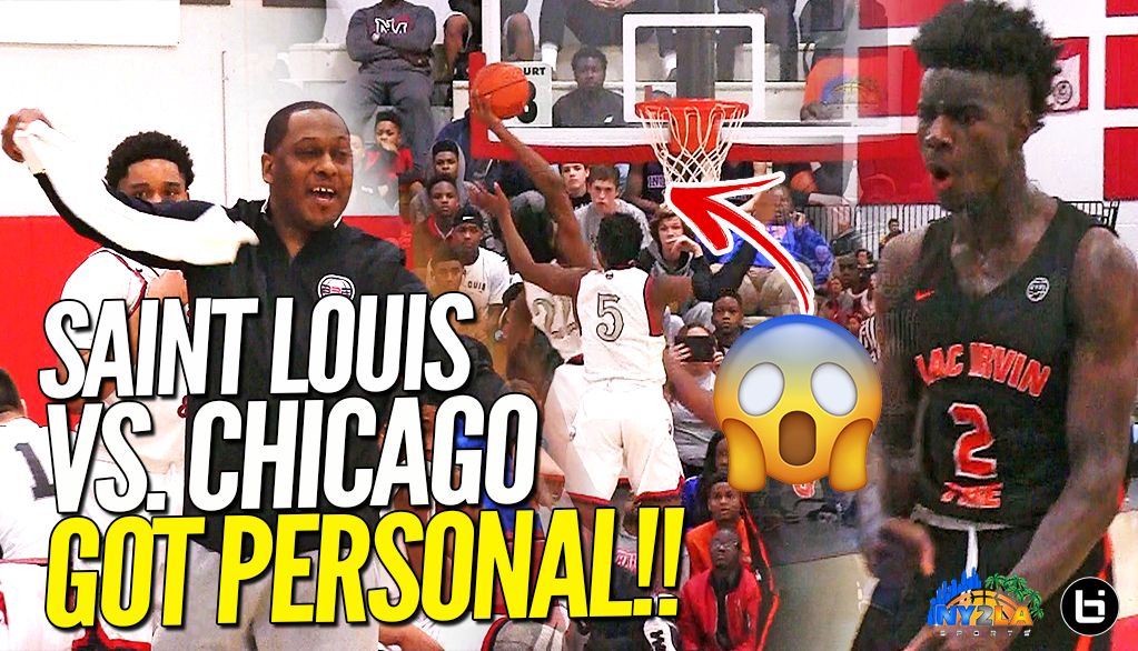 EYBL Warmup Gets PERSONAL!! Moses Moody Goes OFF vs Mac Irvin Fire at Swish n Dish!