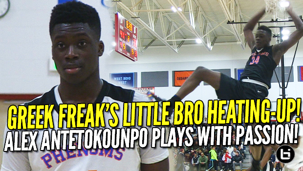 Giannis' Little Bro is Heating-Up! Alex Antetokounmpo Plays With Passion! Swish N Dish Highlights!