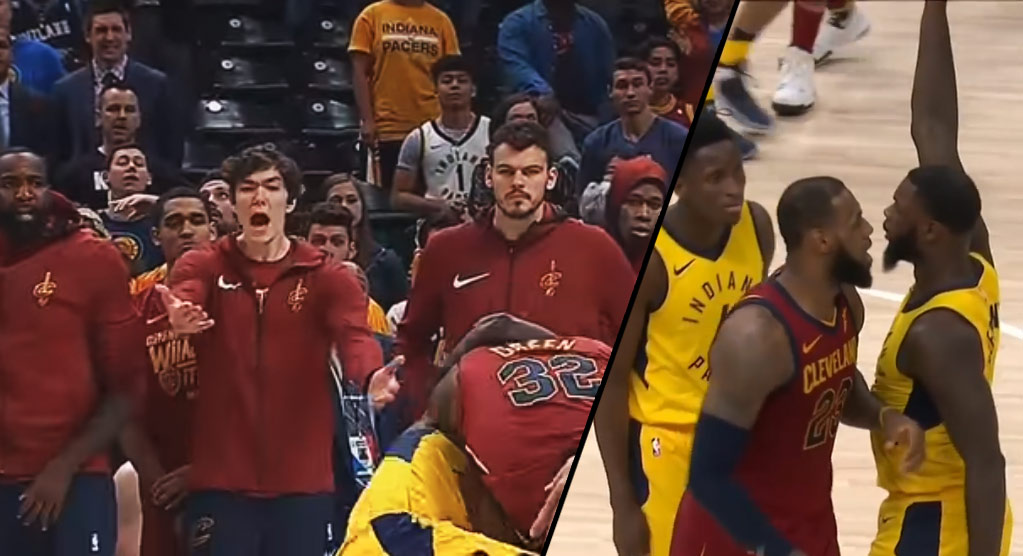 Top 10 Lance Stephenson Moments From GM4 vs The Cavs