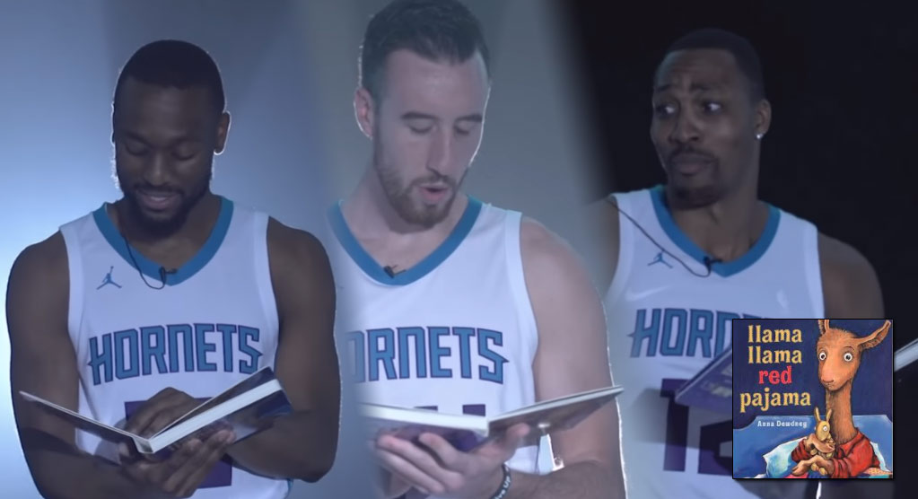Charlotte Hornets' Perform Nursery Rhymes Over Trap Beats
